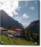 Masca Valley And Parque Rural De Teno 4 Acrylic Print