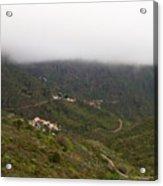 Masca Valley And Parque Rural De Teno 7 Acrylic Print