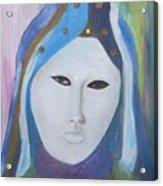 Maschera Veneziana Acrylic Print