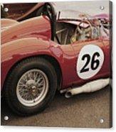 Maserati 450 S Acrylic Print