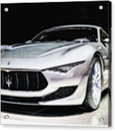 Maserati Alfieri Concept 2014 Acrylic Print