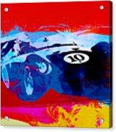 Maserati On The Race Track 1 Acrylic Print