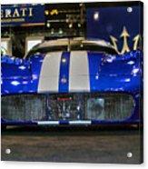 Maserati Racer Acrylic Print
