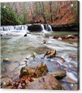 Mash Fork Falls Acrylic Print