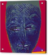 Mask 10 Acrylic Print