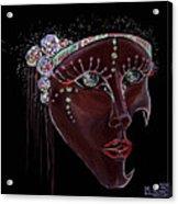 Mask Crystal Acrylic Print