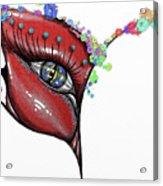 Mask Elegance Acrylic Print