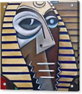 Mask Of The Enigmatic Acrylic Print