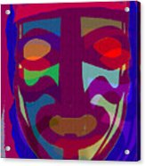Mask8 Acrylic Print