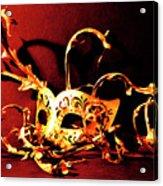Masked Emotions Acrylic Print