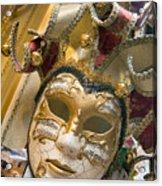 Masks For Sale - Venice, Italy Acrylic Print