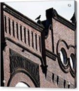Masonic Gothic Acrylic Print