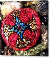 Masons Mosaic Acrylic Print