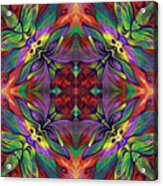 Masqparade Tapestry 7d Acrylic Print