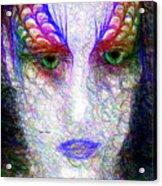 Masquerade 9571 Acrylic Print