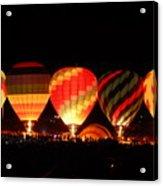Mass Balloon Glow Acrylic Print