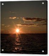 Massachusetts Bay Sunset Acrylic Print