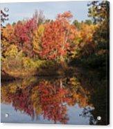 Massachusetts Color Acrylic Print