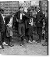 Massachusetts: Gang, C1916 Acrylic Print