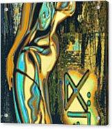 Massai Acrylic Print