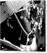 Massai Bride Acrylic Print