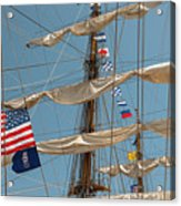 Mast Flags Acrylic Print