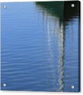 Mast Reflections Acrylic Print
