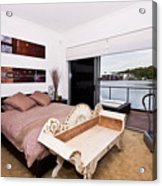 Master Bedroom With A View Acrylic Print