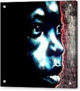 Master Blue Acrylic Print