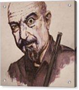 Master Of Flute Acrylic Print