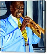 Master Of Jazz Acrylic Print