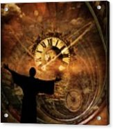 Master Of Time Acrylic Print