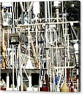 Masts 2354 Acrylic Print
