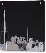 Masts Acrylic Print