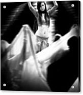 Mata Hari Acrylic Print