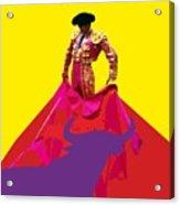 Matador De Toros Acrylic Print