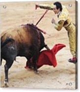 Matador El Cid II Acrylic Print