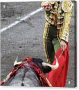 Matador El Juli Acrylic Print