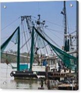 Matagorda Fishing Boats Acrylic Print