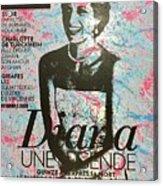 Match - Diana Acrylic Print
