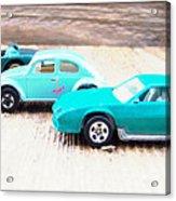 Matchbox Cars Acrylic Print