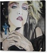 Material Girl Acrylic Print by Lance Gebhardt