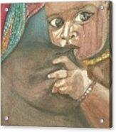 Maternidad Acrylic Print