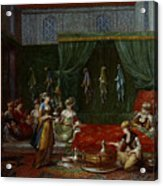 Private Chamber Of An Aristocratic Turkish Woman Acrylic Print