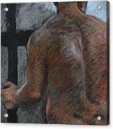 Mathew's Back. Acrylic Print