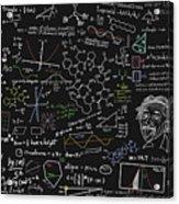 Maths Formula Acrylic Print