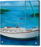 Matilda In The Florida Keys Acrylic Print
