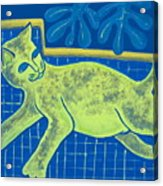 Matisse's Cat In Reverse Acrylic Print