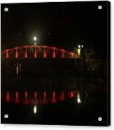 Matlock Bridge Uk Acrylic Print