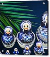 Matreshka Doll Acrylic Print
